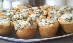 Spinach Artichoke Bites, 25 Best Appetizers to Serve via A Blissful Nest