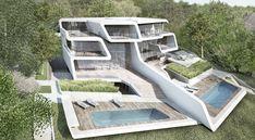 Küsnacht Villa Project in Zurich. Zaha Hadid Architects