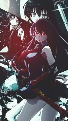 akame-Akame ga kill art,so amazing Sheele Akame Ga Kill, Anime Tatoo, Anime Zone, Juuzou Tokyo Ghoul, Otaku, Character Art, Character Design, Accel World, Chica Anime Manga