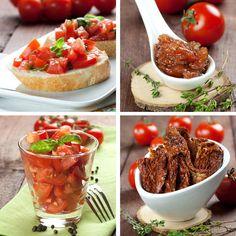 Pripravte paradajky Bruschetta, Baked Potato, Barbecue, Tacos, Mexican, Potatoes, Baking, Ethnic Recipes, Dips