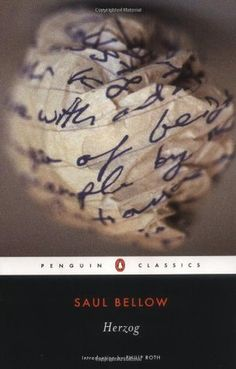 Penguin edition of 'Herzog' by Saul Bellow
