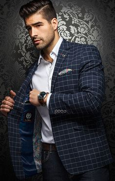 More blazers #menstyle, style and fashion for men @ http://fashionshirtboutique.com/collections/blazers/products/just-in-au-noir-fashion-blazer-clooney-navy #AUNOIR #Mensfashion #Blazers #FASHIONBLAZERS