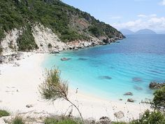 The hidden beaches of Lefkas, Greece