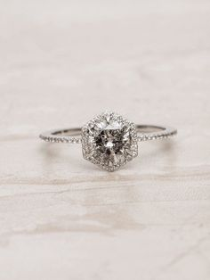 This Young Designer Just Launched the Coolest Engagement Ring Line via Who What . This Young Designer Just Launched the Coolest Engagement Ring Line via Who What Wear Engagement Ring Brands, Best Engagement Rings, Halo Engagement, Engagement Ring Settings, Vintage Engagement Rings, Hexagon Engagement Ring, Affordable Engagement Rings, Most Beautiful Engagement Rings, Affordable Rings