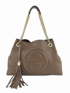 9850ba94600f2 Brown Leather Soho Shoulder Bag