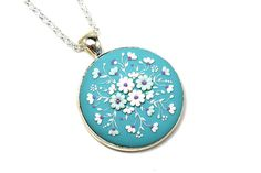 Hey, I found this really awesome Etsy listing at https://www.etsy.com/listing/254383673/floral-pendant-necklace-bouquet-filigree
