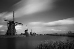 Kinderdijk Windmills Netherlands by Martin Jansen on 500px