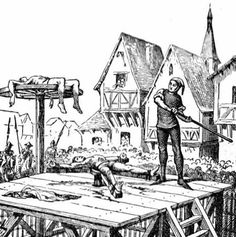 Called The Catherine Wheel, this device always killed its victim, but did so very slowly. The victim's limbs were tied to the spokes of a large wooden wheel. The wheel was then slowly revolved while the torturer smashed the victims' limbs with an iron hammer, breaking them in many places.
