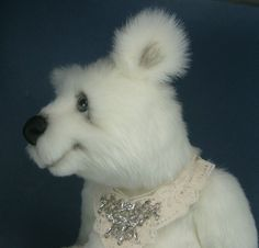 *AURORA* OOAK Artist  bear, Kara's Bears. Fully posable, no reserve