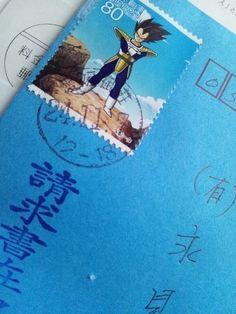 ドラゴンボールの切手