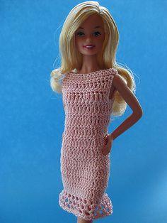Barbie dress watbetty pattern by Betty Watson