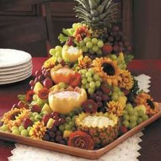 Cascading Fruit Centerpiece to style YOUR way.