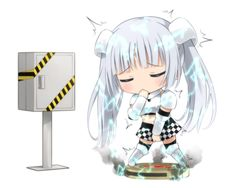 miss monochrome the animation wallpaper