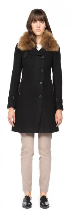 Andrew Marc Gabby Belted Luxe Down Coat 312 | coat search ...
