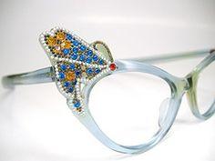 Beautiful Vintage Butterfly Eyeglasses Frame Frame