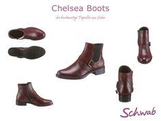 Schicke und hochwertige Chelsea Boots für die modebewusste Frau von heute #ChelseaBoots