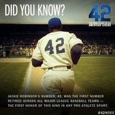 Jackie Robinson, a baseball legend!