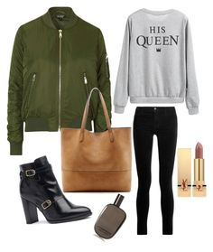 Bomber&Co by grizabella on Polyvore featuring polyvore, fashion, style, Topshop, J Brand, Sole Society, Yves Saint Laurent, Comme des Garçons and clothing