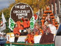 """Fall Festivals: Circleville Pumpkin Show, Circleville, WI.Clearly Wisconsin knows what it's doing when it comes to fall celebrations. The official slogan of the show is """"the Greatest Free Show on Earth,"""" and it might be hard to dispute that. The event features a variety of parades, one for babies and another for pets. Attendance has reached an astonishing 400,000, across four days. The pumpkin show begins with a weigh-in of massive pumpkins from the area"""