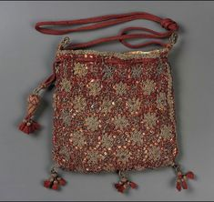 Image result for 16th century embroidered purse