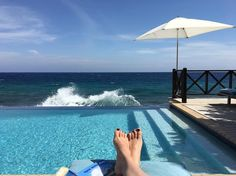 Instagram picture of one of our guests  #ScubaLodge #Infinitypool #Holiday #Curacao #Willemstad #Pietermaai #oceanview #caribbean #pooltime #islandlife