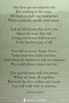 Grief Poems, Quotes About Grief, Dad Poems, Letter From Heaven, Memorial Poems, Memorial Quotes For Dad, Memorial Cards, I Miss My Mom, Amor Real