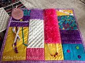 Alzheimer's fidget quilt, chenille and fuzzy fabrics, but similar colors so it doesn't look like a child's toy Sensory Blanket, Weighted Blanket, Quilting Projects, Sewing Projects, Sewing Ideas, Fabric Crafts, Sewing Crafts, Paper Crafts, Nursing Home Gifts