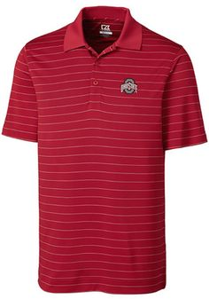 19cf585a8a4 Show your Ohio State Buckeyes pride at the office or golf course in this  men s Cutter