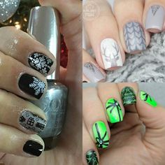 There is never enough for Christmas nails. Beautiful @fkhatlin @xnailsbymiri @snh001 Look forward to your Christmas nails! All are beauty purity and innocence. Cici&sisi Christmas plates #Christmasnails #Christmas #ciciandsisi #pin #twitter #fb
