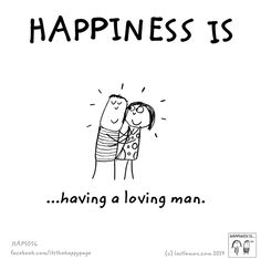 Happiness is being blessed with a good loving man Make Me Happy, Happy Life, Are You Happy, Cute Happy Quotes, Love Quotes For Him, Anniversary Quotes, Miss You, Reasons To Be Happy, Husband Love