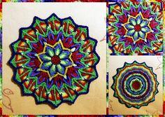 crochet cat pillows free patterns | Overlay Crochet Mandala | Flickr - Photo Sharing!