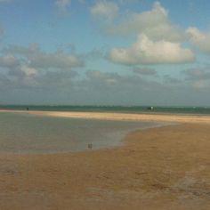 Key Biscayne low tide- great kid beach!