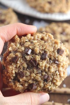 19. Almond Joy Oatmeal Cookies #greatist http://greatist.com/health/healthier-holiday-cookies
