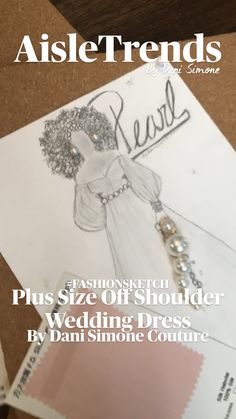 Fashion Design Sketchbook, Fashion Sketches, Wedding Dress Illustrations, Off Shoulder Wedding Dress, Plus Size Maxi, Plus Size Wedding, Bridal Style, Plus Size Fashion, Wedding Gowns