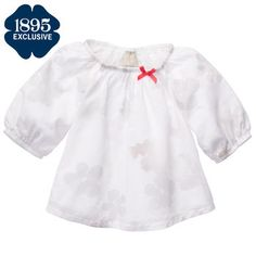 infant size - to wear with green jumper Floral Tunic