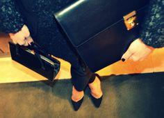 Working Girl #StreetStyle #JohanssonSisters #IN2ITIONSTYLE