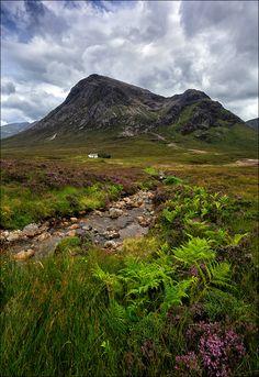 Landscape, Buachaille Etive Mòr, Scotland