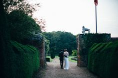 Image by Lucy Turnbull - Bespoke Wedding Dress For A Stylish Wedding At The Great Barn Hales Hall With Images From Lucy Turnbull