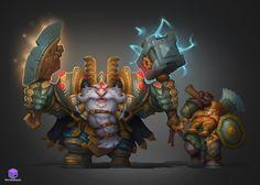 Dwarfs, Dmitriy Barbashin  on ArtStation at https://www.artstation.com/artwork/dwarfs-3a969129-68c9-44e1-89f6-1321c54e5d0f