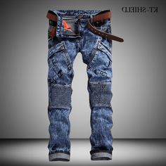 37.88$  Buy now - https://alitems.com/g/1e8d114494b01f4c715516525dc3e8/?i=5&ulp=https%3A%2F%2Fwww.aliexpress.com%2Fitem%2FMen-Vintage-Biker-Jeans-Mens-Brand-Calca-Jeans-Masculina-High-Quality-Skinny-Denim-Overalls-Mens%2F32716033390.html - Men Vintage Biker Jeans Mens Brand Calca Jeans Masculina High Quality Skinny Denim Overalls Mens Pants Brand Clothing Plus Size 37.88$