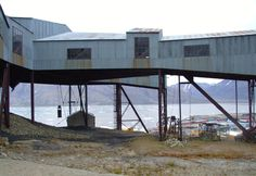 habhakk Years ago, I was very lucky to make a trip to the Svalbard archipelago. This is one of the old coal mines in Longyearbyen, with the Adventfjorden on the background.