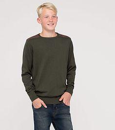 Jungen Gr. 92-182 Pullover in dunkelgrün - Mode günstig online kaufen - C&A