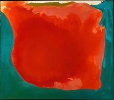 Dit schilderij is gemaakt door Helen Frankenthaler, de titel van het schilderij is: The Canyon. Helen heeft dit schilderij in 1965 geschilderd. Ik denk dat de achtergrond van het schilderij stelt de lucht of de omgeving voorstelt en dat het rode/oranje de canyon voorstelt. Er zit volgens mij niet echt een duidelijk thema in. Helen heeft het schilderij op een canvasdoek gemaakt, zij heeft hierbij acrylverf gebruikt.