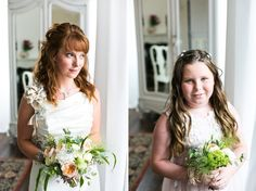 A Pretty and Relaxed French Garden Party Wedding