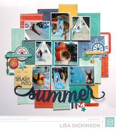 Splash Into Summer...Splash Park Layout