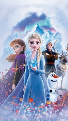 frozen 2 poster iPhone X Wallpapers Frozen Disney, Frozen Movie, Frozen Quiz, Olaf Frozen, Disney Princess Pictures, Disney Princess Art, Disney Art, Frozen 2 Wallpaper, Disney Phone Wallpaper