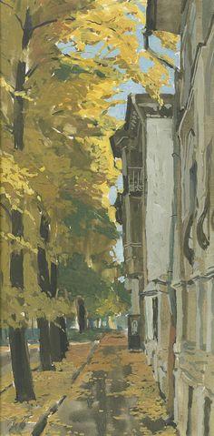 Yaroslavl. Golden Autumn Painting