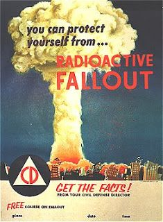 You Can Protect Yourself From Radioactive Fallout Poster Vintage Advertisements, Vintage Ads, Vintage Posters, Advertising Ads, Vintage Stuff, Cold War Propaganda, Fallout Posters, Fallout Facts, Fallout 3