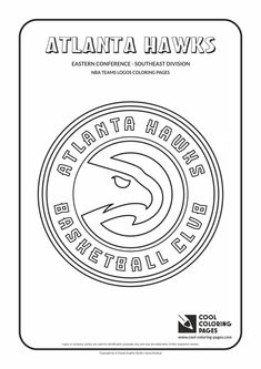 nba team logo coloring pages | nba coloring pages - Google Search | 40th Birthday ...