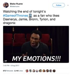 """43 Funny Twitter Reactions From The Latest """"Game Of Thrones"""" Episode That Will Make You Laugh, Like, A Lot"""